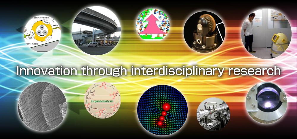 Innovation through interdisciplinary research